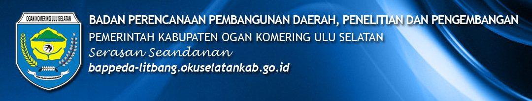 Portal Resmi Badan Perencanaan Pembangunan Daerah, Penelitian dan Pengembangan Pemerintah Kabupaten OKU Selatan